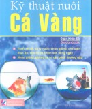 Ebook Kỹ thuật nuôi cá vàng: Phần 1 - Đoàn Khắc Độ