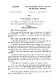 Luật số: 63/2014/QH13