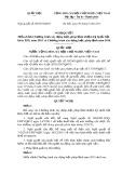Nghị quyết số: 89/2015/QH13