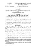 Nghị quyết số: 95/2015/QH13