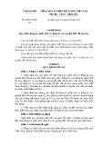 Nghị định số: 68/2015/NĐ-CP