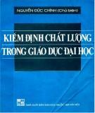 Ebook Kiểm định chất lượng trong giáo dục đại học: Phần 2 – Nguyễn Đức Chính (chủ biên)