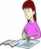 Bài tập Chuyển động học chất điểm 2015 (Có đáp án)