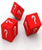 Câu hỏi ôn thi kết thúc môn Dược lý thú y