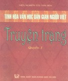 Truyện Trạng - Tinh hoa văn học dân gian người Việt (Quyển 1): Phần 2