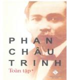 Ebook Phan Châu Trinh toàn tập (Tập 1): Phần 1 - NXB Đà Nẵng