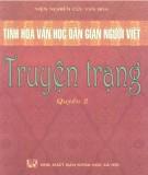 Truyện Trạng - Tinh hoa văn học dân gian người Việt (Quyển 2): Phần 1