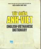 Ebook Từ điển Anh-Việt (English Vietnamese Dictionary): Phần 2 - Viện Ngôn ngữ học
