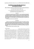 Ảnh hưởng của chitosan đến những biến đổi hóa lý của quả nhãn sau thu hoạch