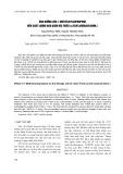 Ảnh hưởng của 1-Methylcyclopropene đến chất lượng bảo quản vải thiều Litchi sinensis Sonn