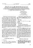 Ảnh hưởng của các điều kiện lên men lên khả năng sinh chất kháng sinh kháng nấm fusarium oxysporum của hai chủng xạ khuẩn streptomyces hygroscopicus HD58