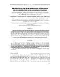Ảnh hưởng đến việc thay đổi môi trường ôxy hóa khử bằng sục khí đến tiêu thụ đường ở nấm men bia saccharomyces cerevisiae