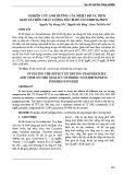 Nghiên cứu ảnh hưởng của nhiệt độ và thời gian sấy đến chất lượng bột bí đỏ cucurbita pepo
