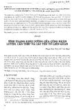 Tình trạng dinh dưỡng của công nhân luyện, cán thép và các yếu tố liên quan