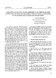 Ảnh hưởng của đường, sự trao đổi khí và giá thể lên sự sinh trưởng của cây dâu tây (Fragaria ananassa duch.) con in vitro và tỷ lệ sống của cây Dâu tây con ex vitro