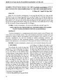 Nghiên cứu sử dụng rong câu chỉ (Gracilatia tenusistipitata) xử lý đầu cuối nước thải nhiễm măn và thu hồi sinh khối rong