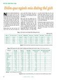 Điểm qua ngành mía đường thế giới (Thế giới dữ liệu)