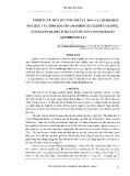 Nghiên cứu một số tính chất lý, hóa và thành phần hóa học của tinh bột sắn (manihot esculenta crantz), sắn dây (pueraria lobata) và huỳnh tinh (maranta arundinacea.L)