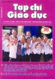Tạp chí Giáo dục số 265 (Kì 1 – 7/2011)
