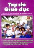 Tạp chí Giáo dục số 259 (Kì 1 – 4/2011)