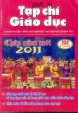 Tạp chí Giáo dục số 253 (Kì 1 – 1/2011)