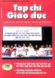 Tạp chí Giáo dục số 266 (Kì 2 – 7/2011)