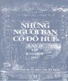 Ebook Những người bạn cố đô Huế (Tập XVIII): Phần 1 - NXB Thuận Hóa