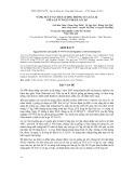 Đề tài: Nghiên cứu khả năng sản xuất của tổ hợp lai giữa gà VCN-G15 với gà Ai Cập