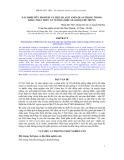 Đề tài: Xác định mức protein và một số axit amin quan trọng trong khẩu phần nuôi Đà Điểu sinh sản