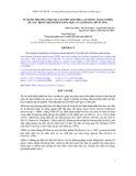 Đề tài: Sử dụng kỹ thuật quang phổ hấp phụ cận hồng ngoại (NIRS) để xác định thành phần hoá học của khô dầu đỗ tương