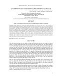 Đề tài: Nghiên cứu xây dựng quy trình sản xuất tảng khoáng liếm chất lượng cao cho động vật nhai lại - Trịnh Vinh Hiển