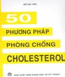 Phòng chống Cholesterol với 50 phương pháp: Phần 1