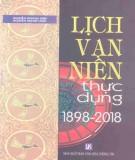 Tìm hiểu Lịch vạn niên thực dụng 1898-2018: Phần 1