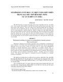 Mô hình hóa toán học các hiện tượng biến thiên trong dạy học nhờ hình học động dự án nghiên cứu MIRA