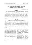 Các quy tắc lịch sự và kính trọng của người Việt và người Úc