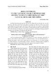 """Động cơ Stirling và việc vận dụng vào quá trình dạy học chương """"Cơ sở của nhiệt động lực học"""" Vật lí 10, trung học phổ thông"""