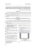Hướng dẫn sử dụng phần mềm Lecturemaker trong thiết kế bài giảng điện tử môn Hóa học