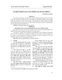 Về khái niệm lập luận trong sách giáo khoa