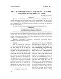 Phát huy tính tích cực và sáng tạo của học sinh trong môi trường khảo sát toán