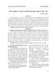 Phát triển và quản lí liên kết học thuật Việt - Mĩ