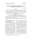 Nghiên cứu tổng quan về giáo dục Lịch sử Úc trong trường phổ thông - Bùi Tiến Huân
