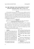 """Dạy học theo dự án bài """"Khái niệm về tecpen"""" chương trình Hóa học lớp 11 nâng cao"""