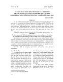 Kỹ năng soạn bảng hỏi, thang đo của sinh viên Trường Đại học Sư phạm Thành Phố Hồ Chí Minh sau khi học xong môn Phương pháp nghiên cứu khoa học