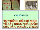 Bài giảng Tư tưởng Hồ Chí Minh: Chương 6 - Hà Tân Bình