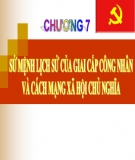 Bài giảng Những nguyên lý cơ bản của chủ nghĩa Mác - Lênin: Chương 7 - Nguyễn Khánh Vân