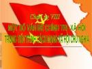 Bài giảng Những nguyên lý cơ bản của chủ nghĩa Mác - Lênin: Chương 8 - Nguyễn Khánh Vân