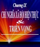 Bài giảng Những nguyên lý cơ bản của chủ nghĩa Mác - Lênin: Chương 9 - Nguyễn Khánh Vân