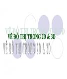 Bài giảng Maple: Bài 3 - Vẽ đồ thị trong 2D & 3D