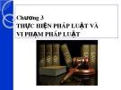 Bài giảng Luật học đại cương: Chương 3 - ThS. Trần Vân Long