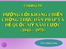 Bài giảng Đường lối cách mạng của Đảng Cộng sản Việt Nam: Chương 3 - ThS. Hoàng Trang